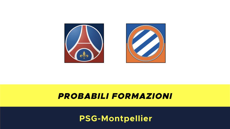 PSG-Montpellier probabili formazioni