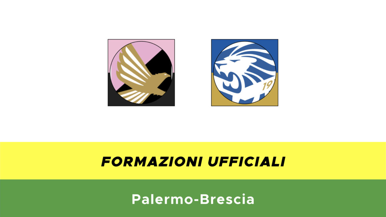 Palermo-Brescia formazioni ufficiali