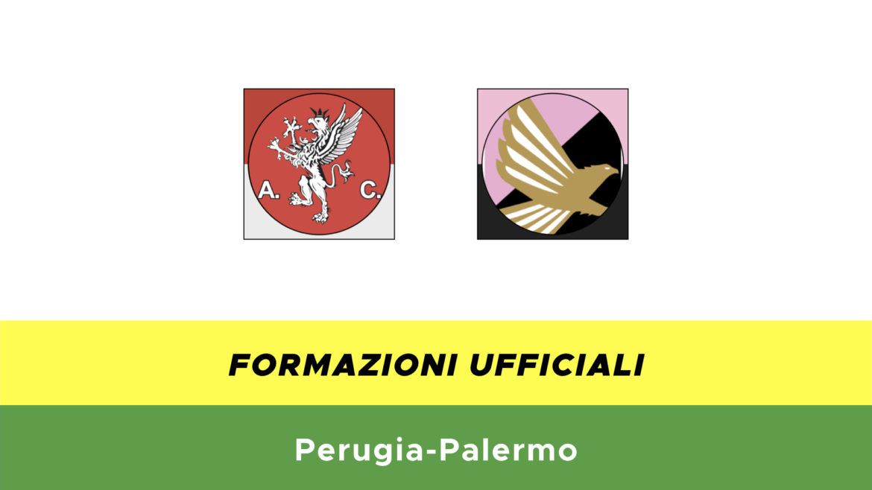 Perugia-Palermo formazioni ufficiali