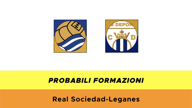 Real Sociedad-Leganés probabili formazioni