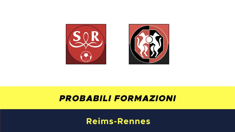 Reims-Rennes formazioni ufficiali