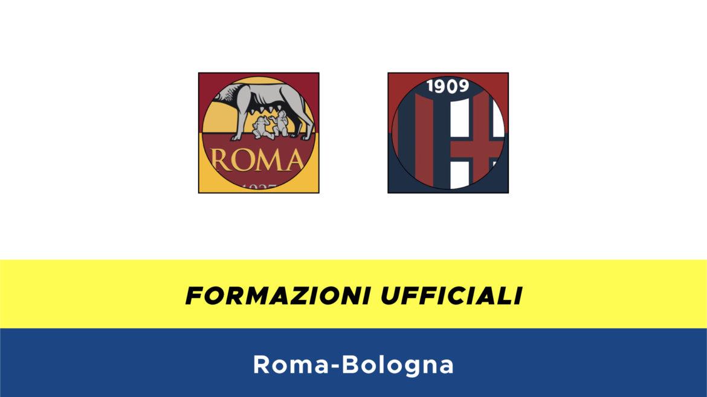 Roma-Bologna formazioni ufficiali