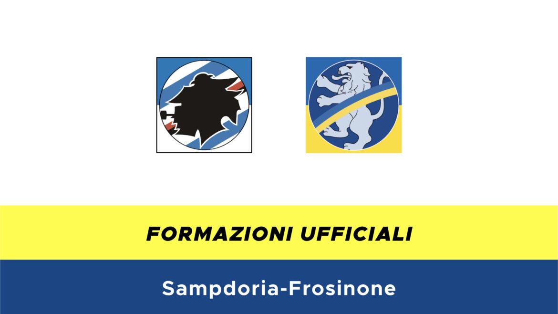Sampdoria-Frosinone formazioni ufficiali