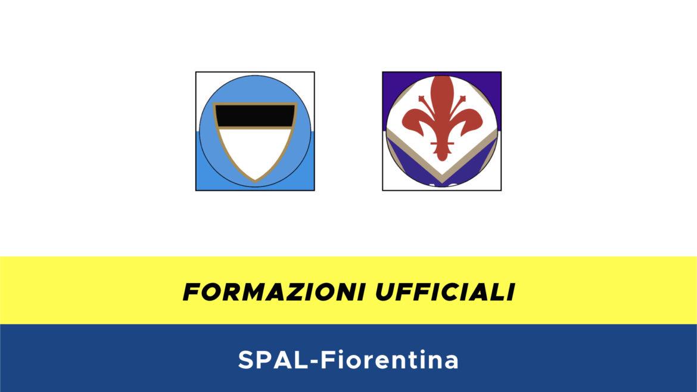 Spal-Fiorentina formazioni ufficiali