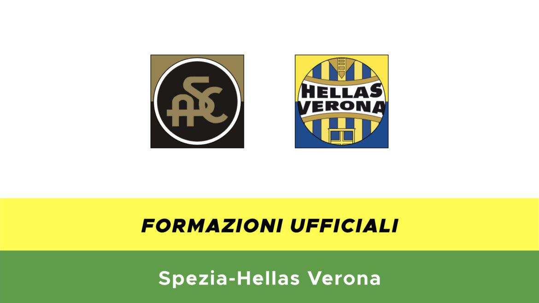 Spezia-Verona formazioni ufficiali
