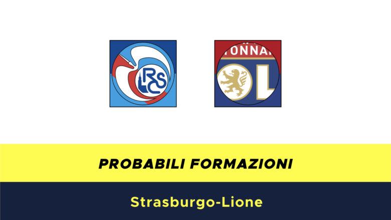 Strasburgo-Lione probabili formazioni