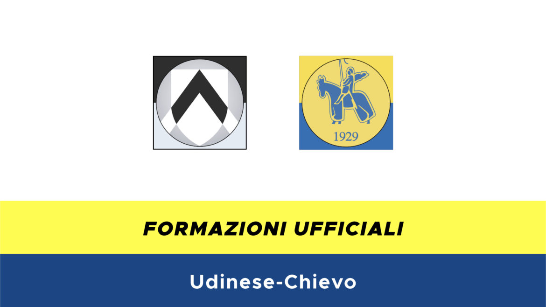 Udinese-Chievo formazioni ufficiali