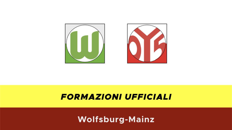 Wolfsburg-Mainz formazioni ufficiali