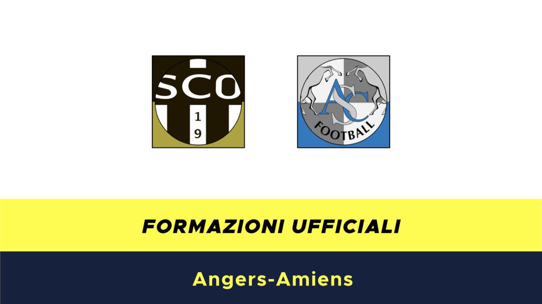 Angers-Amiens formazioni ufficiali