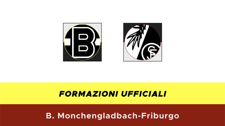 Borussia M'Gladbach-Friburgo formazioni ufficiali