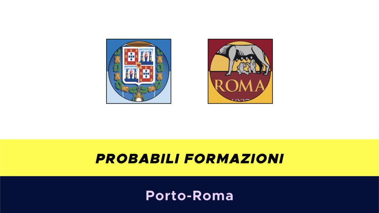 Porto-Roma probabili formazioni