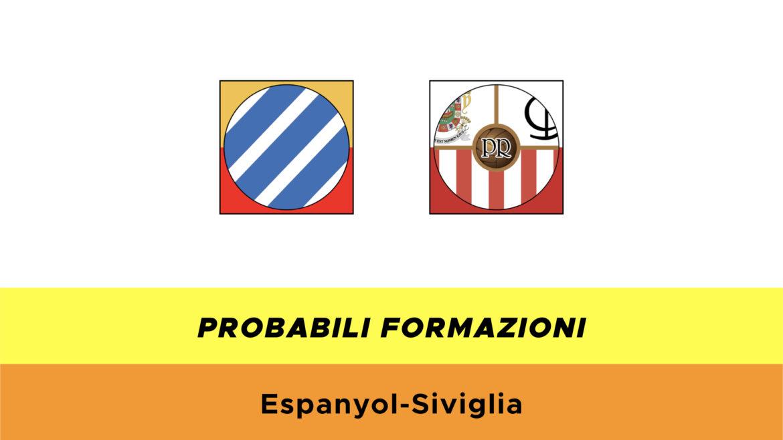 Espanyol-Siviglia probabili formazioni