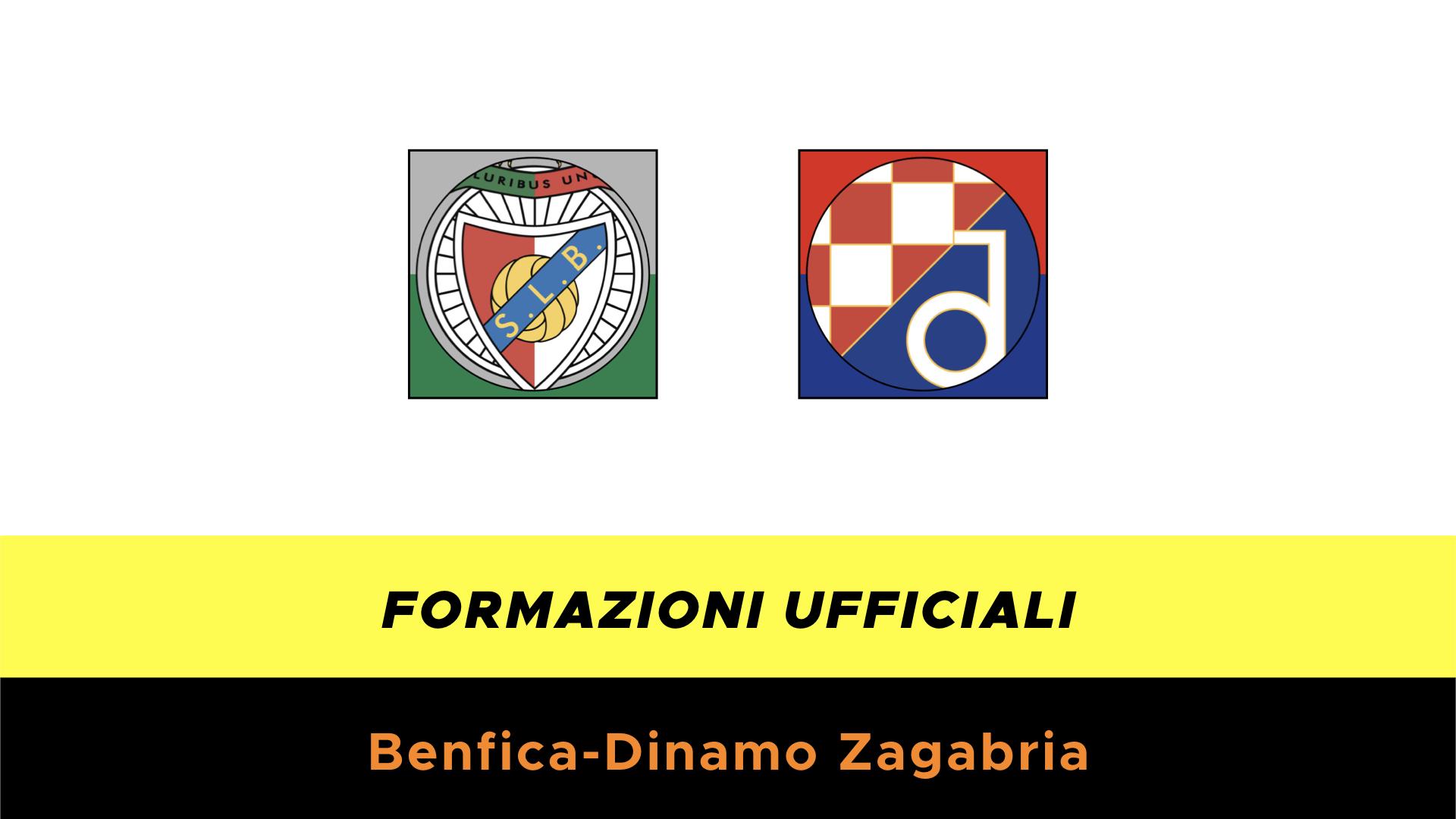Benfica-Dinamo Zagabria: formazioni ufficiali e dove vederla in TV e ...