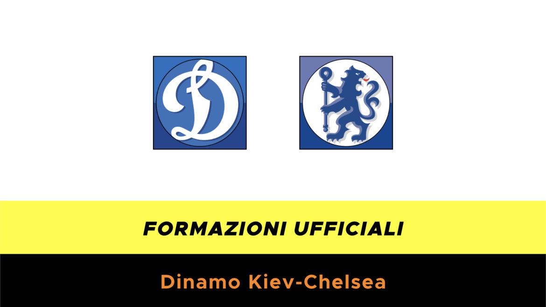 Dinamo Kiev-Chelsea formazioni ufficiali