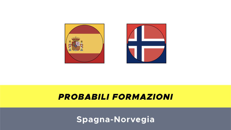 spagna-norvegia probabili formazioni