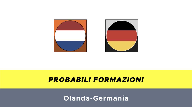 olanda-germania probabili formazioni
