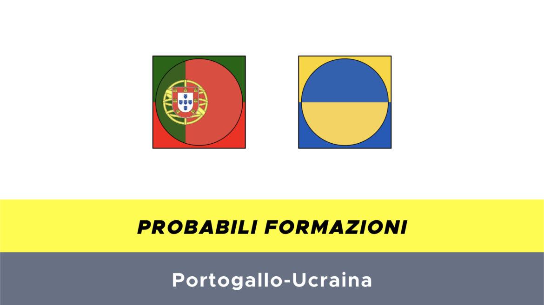 Portogallo-Ucraina probabili formazioni