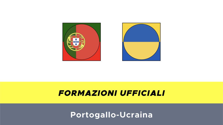 Portogallo-Ucraina formazioni ufficiali