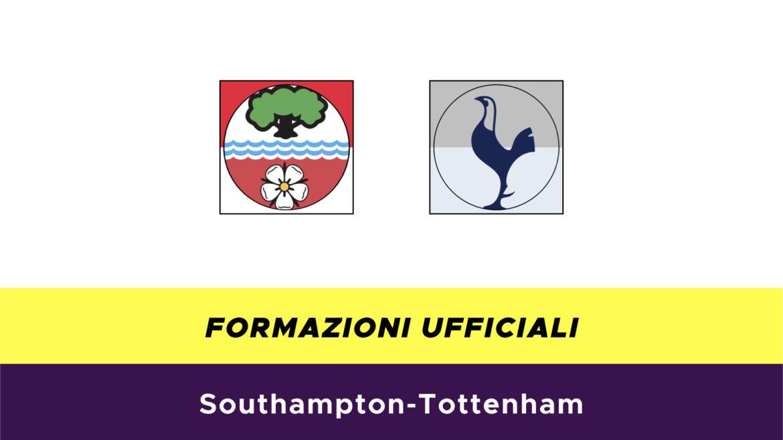 Southampton-Tottenham formazioni ufficiali