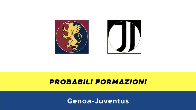 Genoa-Juventus probabili formazioni