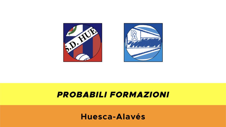 Huesca-Alavés probabili formazioni