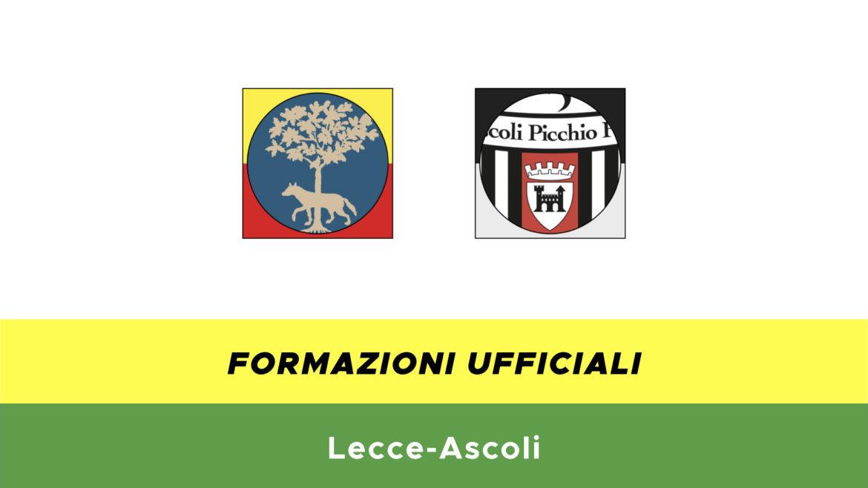 Lecce-Ascoli formazioni ufficiali