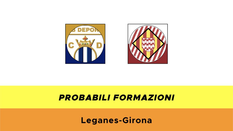Leganés-Girona probabili formazioni