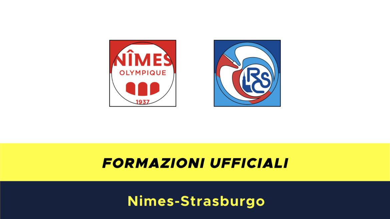 Nimes-Racing Strasburgo formazioni ufficiali