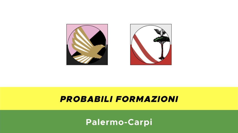 palermo-carpi probabili formazioni