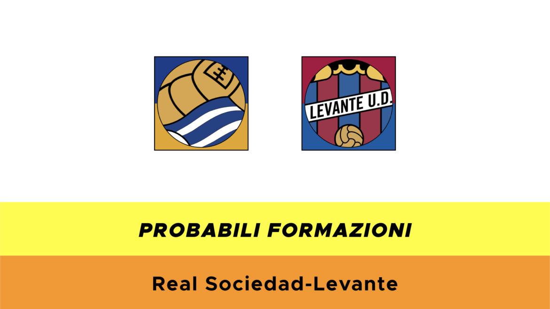 Real Sociedad-Levante probabili formazioni