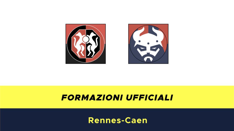 Rennes-Caen formazioni ufficiali