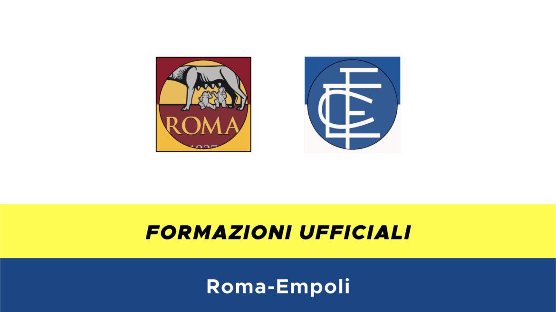 Roma-Empoli formazioni ufficiali