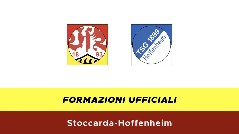 Stoccarda-Hoffenheim formazioni ufficiali