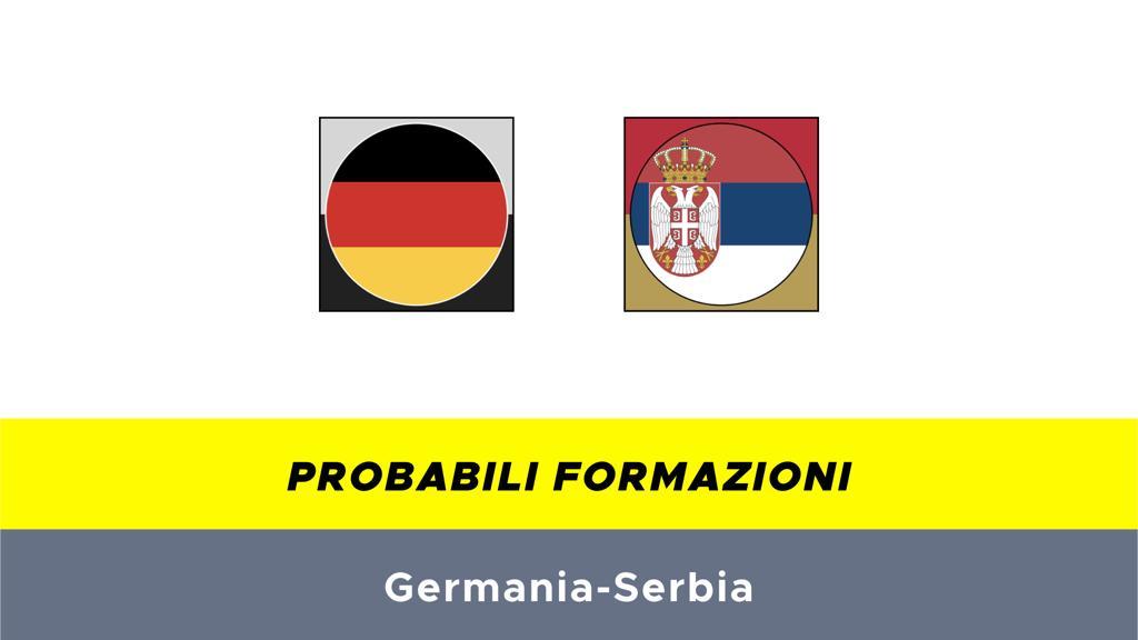 Probabili formazioni Germania-Serbia