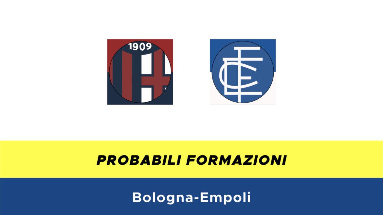 Bologna-Empoli probabili formazioni