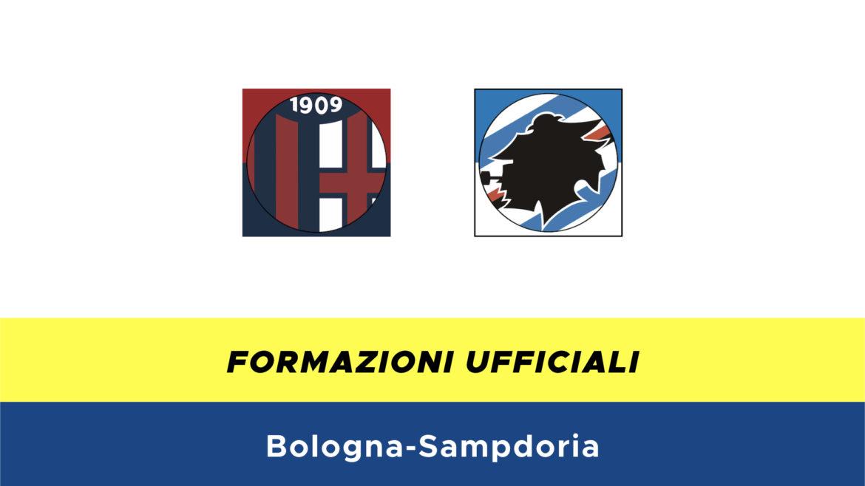 Bologna-Sampdoria formazioni ufficiali