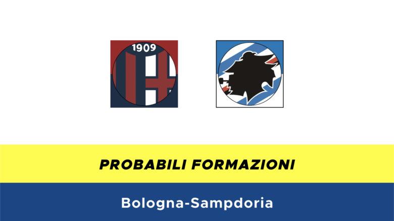 Bologna-Sampdoria probabili formazioni