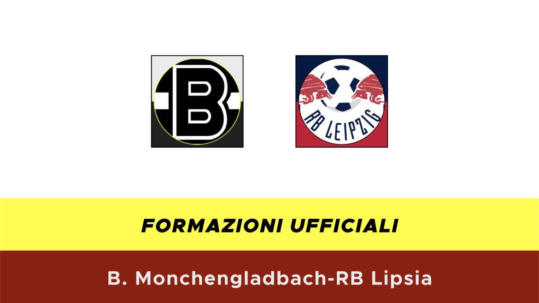 Borussia M'Gladbach-RB Lipsia formazioni ufficiali