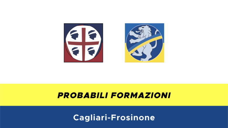 Cagliari-Frosinone probabili formazioni