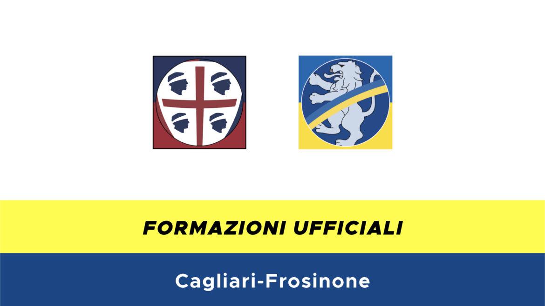 Cagliari-Frosinone formazioni ufficiali