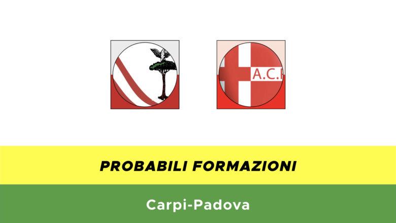 Carpi-Padova probabili formazioni