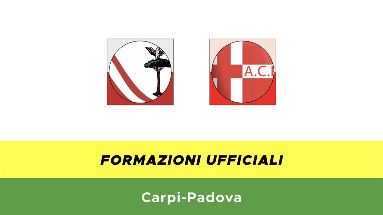 Carpi-Padovaformazioni ufficiali