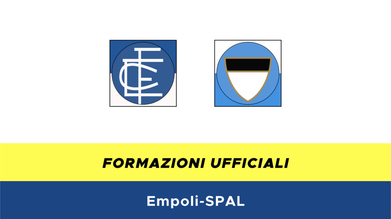 Empoli-SPAL formazioni ufficiali