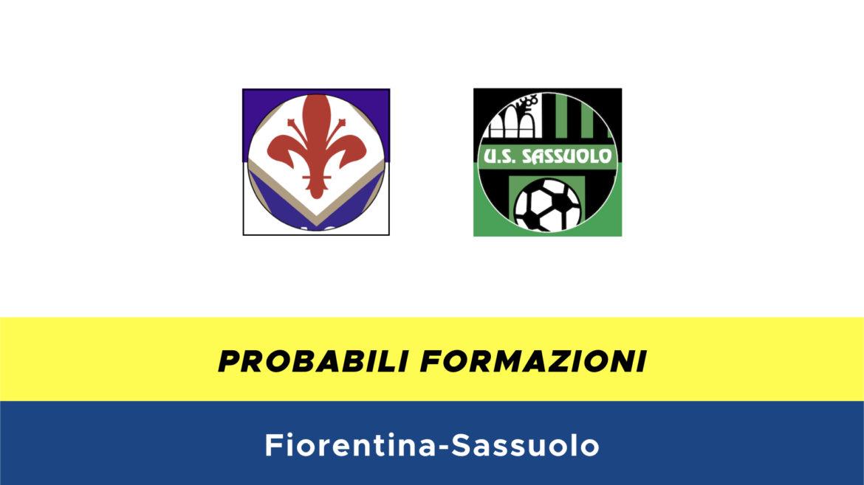 Fiorentina-Sassuolo probabili formazioni