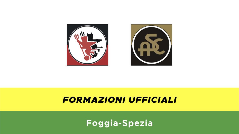 Foggia-Spezia formazioni ufficiali