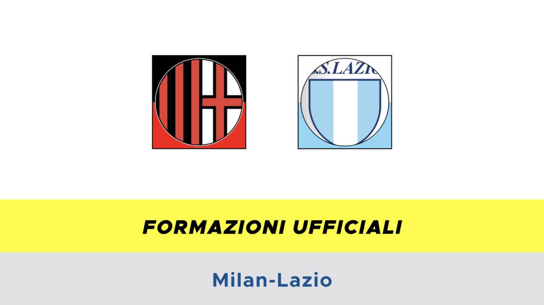 Milan-Lazio formazioni ufficiali
