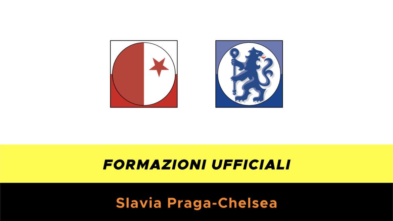 Slavia Praga-Chelsea formazioni ufficiali