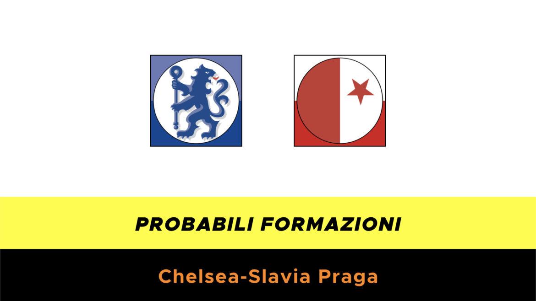 Chelsea-Slavia Praga probabili formazioni