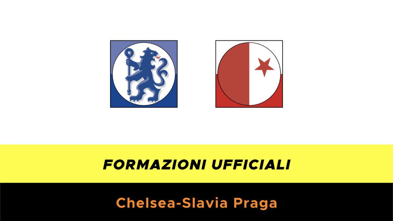 Chelsea-Slavia Praga formazioni ufficiali