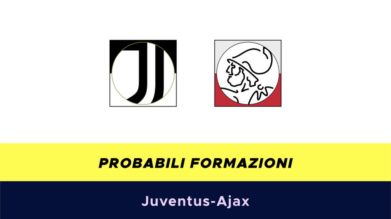 Juventus-Ajax probabili formazioni